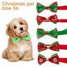 fête Noël Réglable Nœud papillon Collier de chat Cravate de Noël Noeud de chien