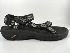 Teva Hurricane XLT Sandals Sport Water Shoes Women's 7 EU 38 Black White Floral