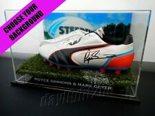✺Signed✺ ROYCE SIMMONS & MARK GEYER Boots COA Penrith Panthers 1991 2018 Jersey