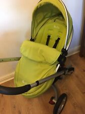 Silver Cross Surf 2 Travel System in Lime Green