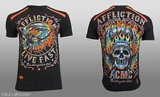 Affliction Men's Native Muscle Spectrum Tee Shirt Black 3X-Large