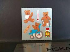 Vintage Sandylion Stickers 80s Bears Hospital Sticker Mod RARE VHTF Blue Back