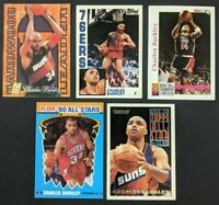 Charles Barkley 90 91 92 93 94 95 96 NBA Hoops Fleer Flair Insert LOT 5 Card