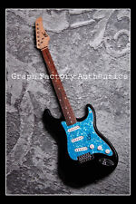 GFA Pop Star Icon * STEVIE WONDER * Signed Electric Guitar PROOF COA