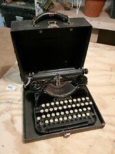 Corona Four Antique Portable Typewriter Vtg