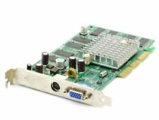 Leadtek LR2969 Nvidia GeForce FX5500 Chip 256MB RAM VGA Video AGP Graphics Card