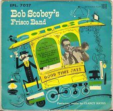"BOB SCOBEY / CLANCY HAYES ""PEORIA"" VOCAL JAZZ 50'S EP GOOD TIME JAZZ 1018"