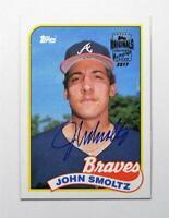 2017 Topps Archives Originals Autographs #JM John Smoltz Auto /20