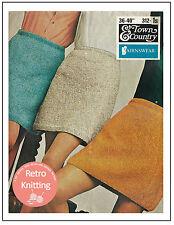 Minigonna anni 1960 Knitting Pattern-copia