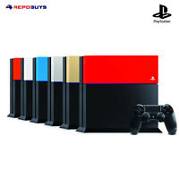 NEW Genuine Playstation 4 Sony Genuine PS4 Custom Faceplate HDD Case Top Cover