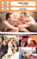 FICHE CINEMA FILM GB TWIN TOWN  Réalisateur Kevin Allen