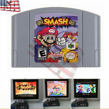 Hot Super Smash Bros Video Game Cartridge Console Card For Nintendo N64 Gift US