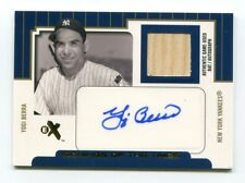 Yogi Berra Auto & Bat /54 2004 Fleer EX Signings of The Times Autograph Yankees