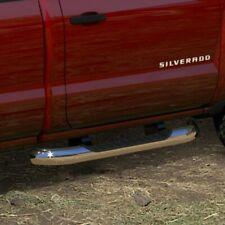 "15-18 Silverado 2500 Nerf Bars - Assist Steps - 4"" Chrome Tube - Regular Cab OEM"