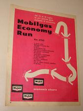 MOBIL OIL GAS ECONOMY RUN=ANNI '50=PUBBLICITA=ADVERTISING=WERBUNG=497