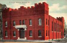 Nevada Missouri NGM Armory Historic Bldgs Vintage Postcard K24614