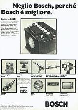 PUBLICITE ADVERTISING 046  1969  Bosch  batterie lave-vaiselle machine à laver