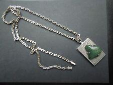 Handcrafted Necklace See Descrip J6 Designer 900 Silver