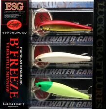 LUCKY CRAFT JAPAN Pointer/B'Freeze 78SB-S - 3 Lures Set Muddy Selection C