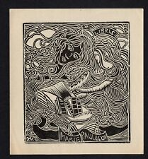 42)Nr.089-EXLIBRIS, Josef Vachal, 1920