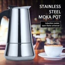 Stainless Steel Italian Top Moka Espresso Cafeteira Expresso Percolator Moka Pot