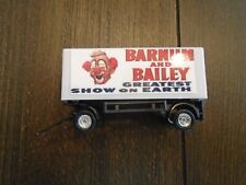 HO Scale Barnum and Bailey  Circus Wagon- Clown