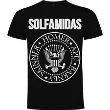 Camiseta Solfamidas - Los Simpson - Tributo a Los Ramones