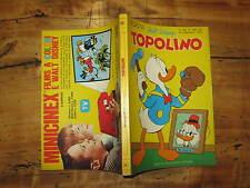 WALT DISNEY TOPOLINO LIBRETTO NUMERO 843 PRESENTI PUNTI CLUB 23 GENNAIO 1972