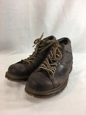 Dr Martens Kenzie Casual Hiking Boots Shoes Mens 10 M Brown Leather Lace Up