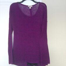Arizona purple knit top size M