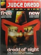 JUDGE DREDD MEGAZINE - No 14 - 02/1996 - With Poster - UK comic-  -COM-592