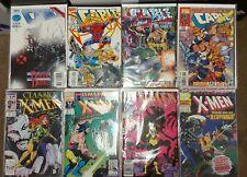 Marvel Comic Book Lot 8 Classic Xmen, Cable