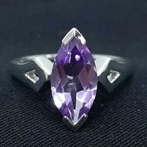 World Class 2.50ctw Amethyst 925 Sterling Silver Ring Size 7.25