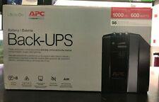 APC BX1000M Back-UPS Pro 1000 VA 600 Watts 8 Outlets Uninterruptible Power Suppl