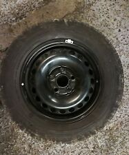 """(d) VW TRANSPORTER T5 T6 16"""" BLACK STEEL SPARE WHEEL AND 215 65 16 TYRE"""