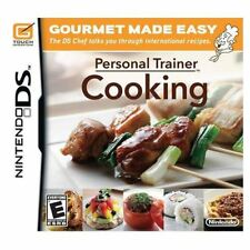 Personal Trainer Cooking Made Easy DS/Lite/DSi/XL/3DS NEW