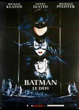 BATMAN LE DEFI Affiche Cinéma 160x120 Movie Poster TIM BURTON Michael Keaton