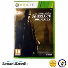 Le Testament de Sherlock Holmes (XBOX 360) ** dans une toute nouvelle affaire! **