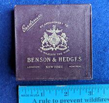 Vtg Benson & Hedges Gardenia Cigarette Package Pack Tobacco Empty Box London NY