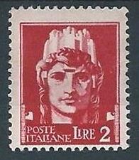 1929-42 REGNO IMPERIALE 2 LIRE MH * - RR12830-2
