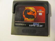 SEGA GAME GEAR  MORTAL KOMBAT  (cartridge only)
