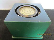 Maritime, Norwegian, Boxed, Brass Wet Compass