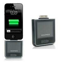 Monoprice 2200mAh External Backup Battery Charger for iPhone 3 3GS 4 4S 4G, iPod