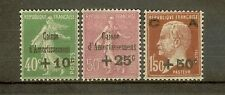 "FRANCE STAMP TIMBRE N°253/55 ""CAISSE AMORTISSEMENT 3eme SERIE 1929"" NEUFS xx TTB"