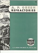 1949 A.P. Green Refractories catalog Asbestos Products History