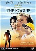 THE ROOKIE - BRAND NEW & SEALED DVD - WALT DISNEY COLLECTION (DENNIS QUAID)