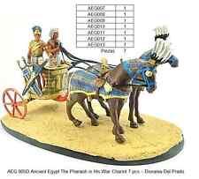 AEGD 005-THE CHAR OF PHARAON CARRO DEL FARAON EGYPT 7 PCS DEL PRADO