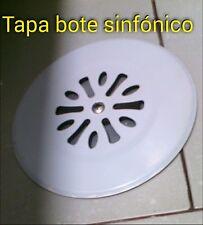 Tapa bote sifonico acero inoxidable tapa baño con agujeros pvc sumidero 110 mm