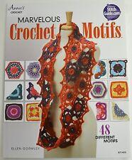 CROCHET PATTERN BOOK-Marvelous Crochet Motifs - Ellen Gormley - Yarn