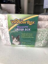 New listing Wonder Box Disposable Litter Box 3 Pk
